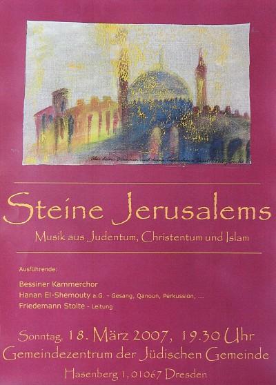 Steine Jerusalems