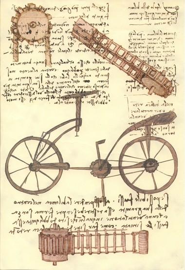 Leonardos Fahrrad